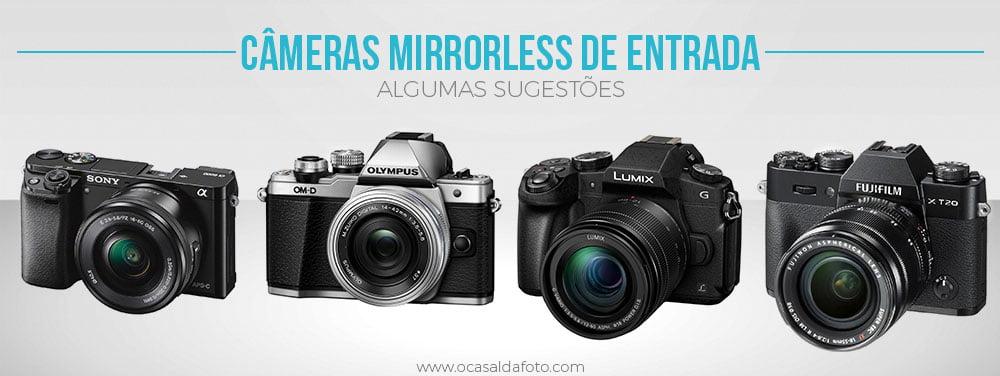 cameras dslr de entrada , camera profissional para iniciantes, camera mirrorless