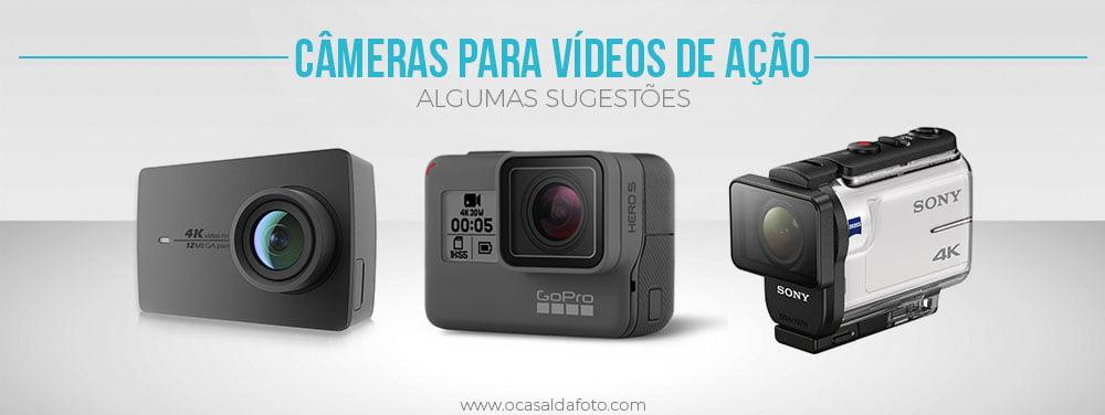 melhores cameras de ação