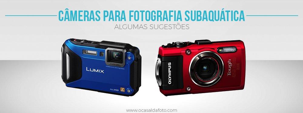 melhores cameras para fotografia subaquatica