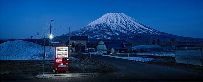 Eiji Ohashi, paisagens Japão Vending Machines